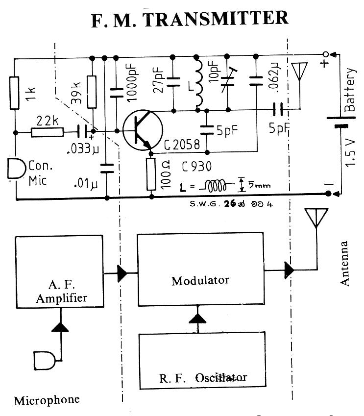 transmitter circuit schematics includding bugging device circuits rh satsleuth com