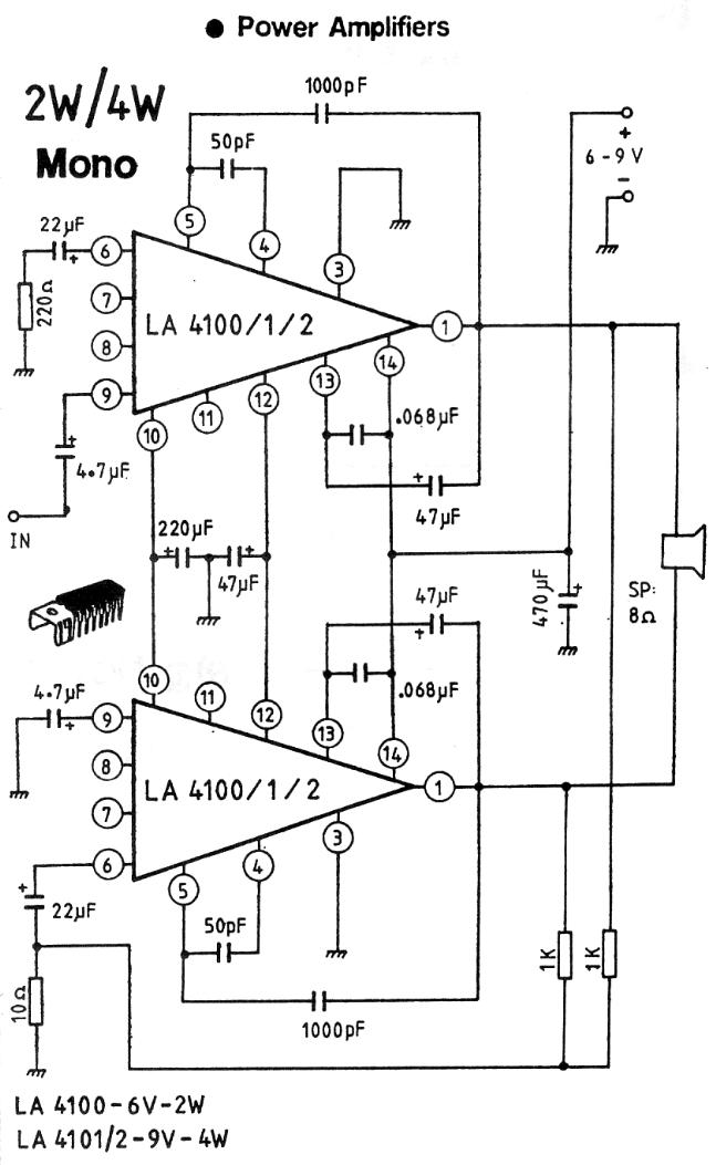 lifiers on simple audio amplifier schematic