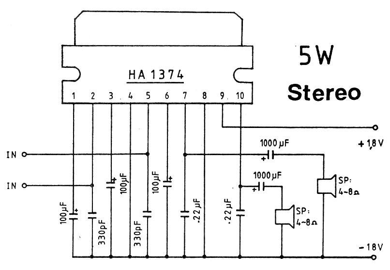 5w stereo amplifier circuit 5w power amplifier circuit 5w stereo amplifier circuit diagram stereo amplifier circuit diagram car stereo and amplifier diagram