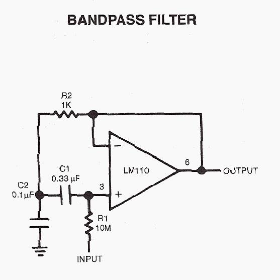 bandpass filter  crystal bandpass filter